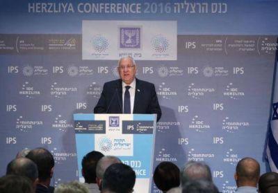 El Presidente Rivlin abri� la 16� Conferencia anual de Herzliya