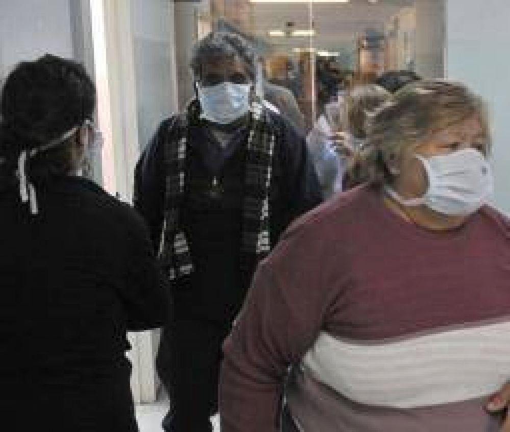 Preocupación por elevado número de casos de Gripe A