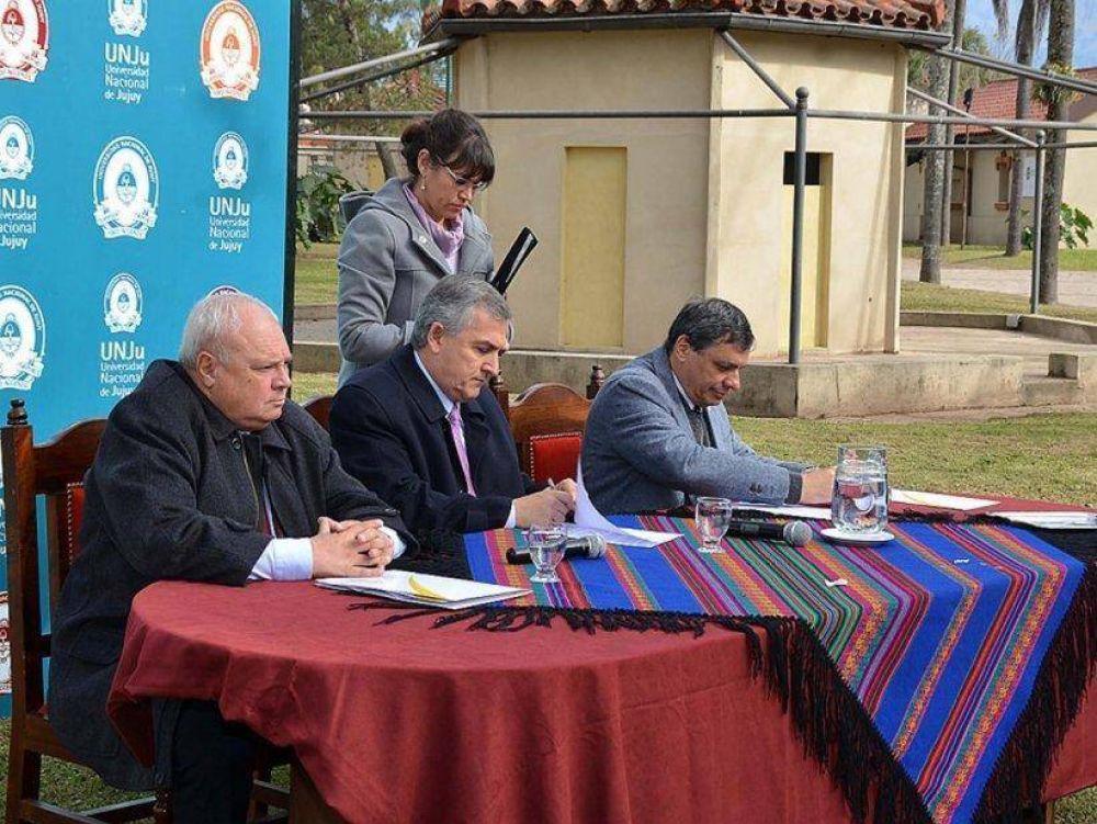 Gobierno provincial y Unju profundizan relaciones