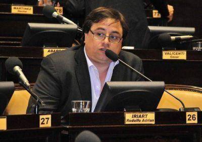Iriart reclam� por el traspaso de la Polic�a Local a los distritos