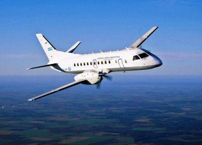 LADE retoma los vuelos uniendo la Patagonia