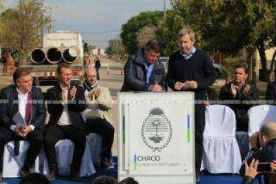 """Nos paramos en las vías con Frigerio"", subraya Peppo"