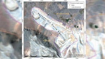 Una empresa chilena creó un megabasurero de residuos mineros en suelo argentino