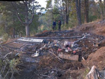 Tras incendio de casilla, afirman que no hab�a autorizaci�n municipal para asentarse