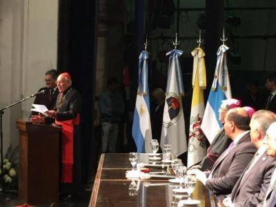Palabras del Cardenal Re durante la recepción oficial