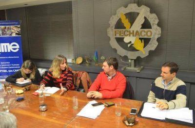 La Federación Económica del Chaco recibió a funcionaria del Ministerio de Producción de la Nación