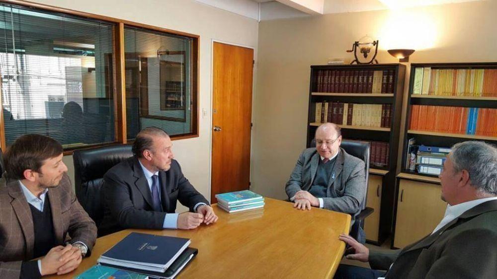 Rossi y Piedecasas mantuvieron reunión en Buenos Aires y coordinaron agenda