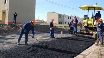 Autorizan al municipio a pedir un cr�dito para asfaltar m�s de 100 calles