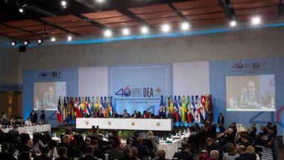 Firme mensaje de pa�ses de la OEA a Venezuela