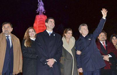 Macri cerró su segunda visita en una semana a Salta