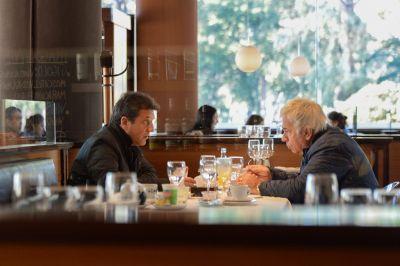 Massa y De la Sota se reunieron para organizar el futuro de UNA