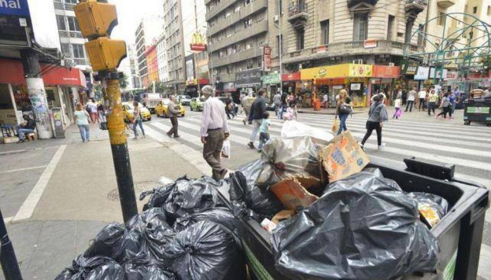 Suspenden la recolección de residuos por una medida de fuerza del Surrbac