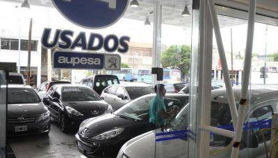 Venta de autos usados cayó 15,1 %