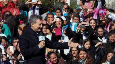 Día de la Bandera: cinco mil alumnos prometen lealtad en un acto con Macri