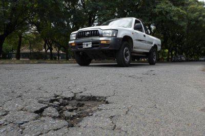 Tras las lluvias, otros 93 millones para el bacheo