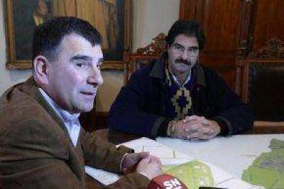 El Intendente recibió al del Ministro de Asuntos Agrarios de la Provincia