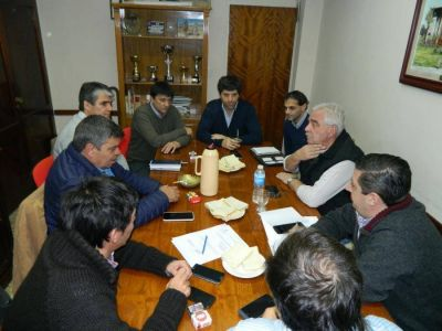 Viceministro de Frigerio se reunió con Gasparini