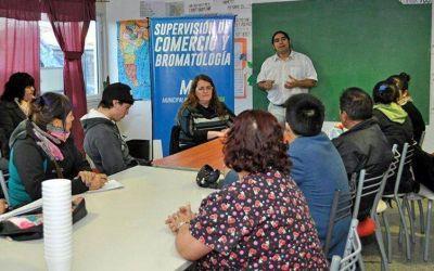 Municipio brindó capacitación en manipulación de alimentos