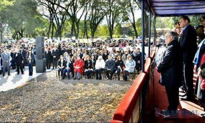 Libres: Colombi habilitó la ampliación de la Escuela Nº 242 y anunció la refacción de otra