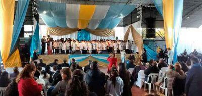 D�a de la bandera: El acto central fue en Olta