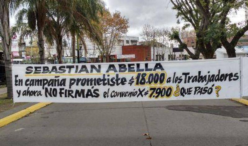 Crece el conflicto entre los Municipales y Abella