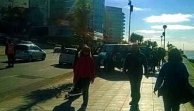Cerca de cien mil personas eligieron Mar del Plata saturada de policías ¿por cuánto tiempo?