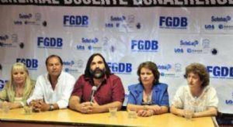 El Frente Gremial Docente anunció que volverán a discutir salarios el 7 de julio