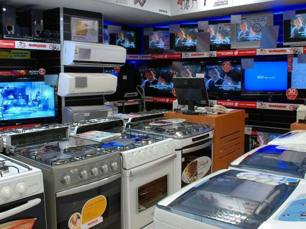 La venta de electrodomésticos aumentó un 10%, la mitad de lo señalado por el INDEC