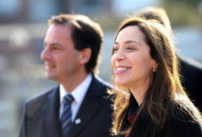 Vidal y Sujarchuk juntos en la promesa a la bandera en Escobar