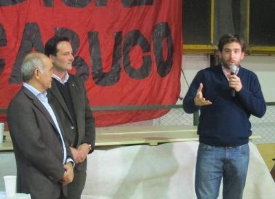 Fuerte demostraci�n de poder del Radicalismo Bonaerense