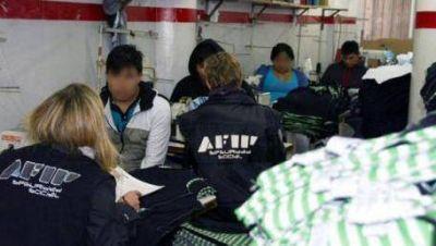 La AFIP detectó esclavitud en talleres textiles de CABA