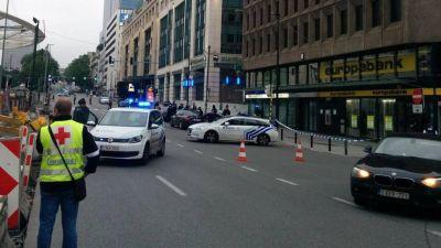 Alerta de bomba en un centro comercial de Bruselas: un sospechoso detenido