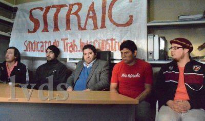 Apoyo conjunto a municipales de Caleta que reclaman sueldos