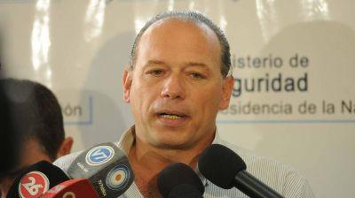 Reapareció Sergio Berni y admitió que en septiembre sabían dónde estaba Pérez Corradi