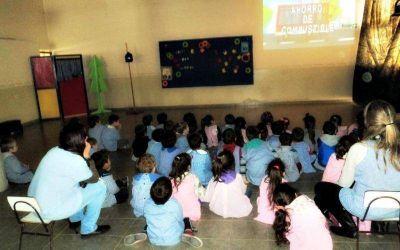 Continúan los talleres de educación ambiental para estudiantes