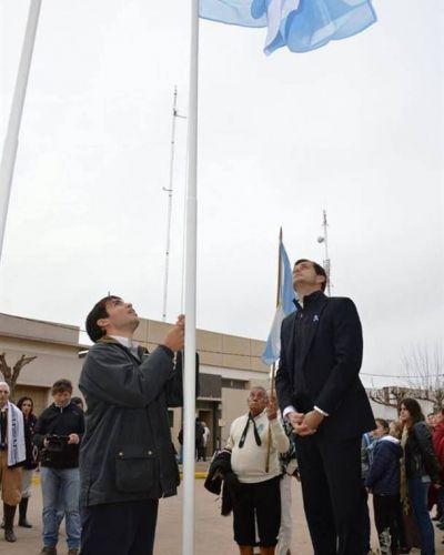 El acto por el Día de la Bandera tuvo epicentro en Pirovano