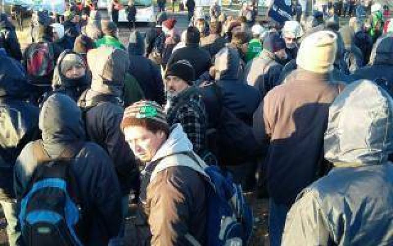 Metal�rgicos, con protestas en varios puntos del corredor norte