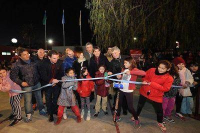 El Polideportivo de La Paloma cuenta con un playón multiuso