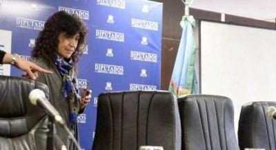 La sanjuanina ministra de Vidal, en problemas por la gripe A