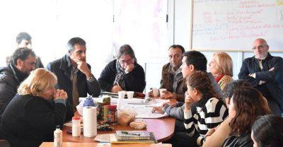 Funcionarios nacionales del Promeba y el BID recorrieron varias obras