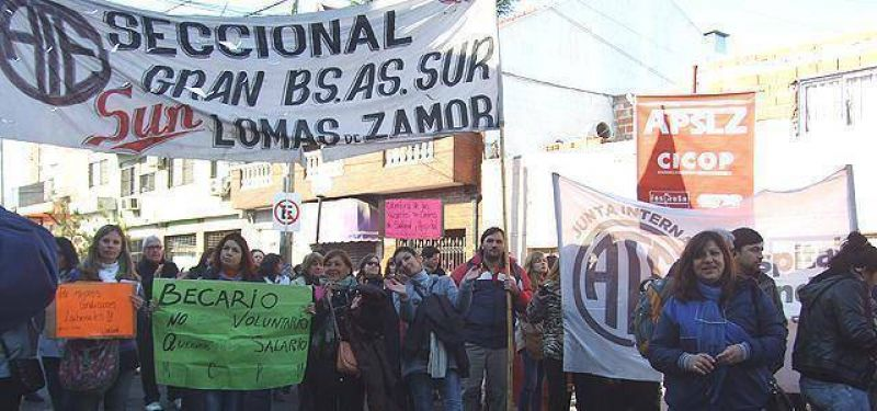 Médicos de Lomas vuelven a parar y marcharán a la Municipalidad