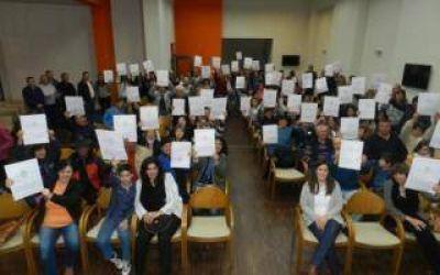 Guaminí: Álvarez pidio a los vecinos que abonen las tasas municipales