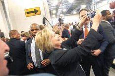 Hillary aparece con ventaja en la recta final