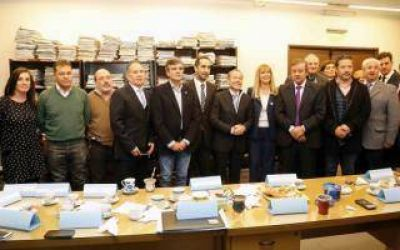 Intendentes del Grupo Padua, la Justicia y la Iglesia con agenda común