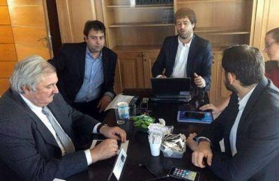 Dell Olio junto a directivos del BID que continuará apoyando proyectos ambientales en Mar del Plata