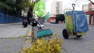 Trabajadores de la 9 de Julio denuncian constantes robos cuando hacen el trabajo de barrido en los barrios
