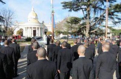 Juraron la Bandera los Aspirantes a Cadetes de la Polic�a Local
