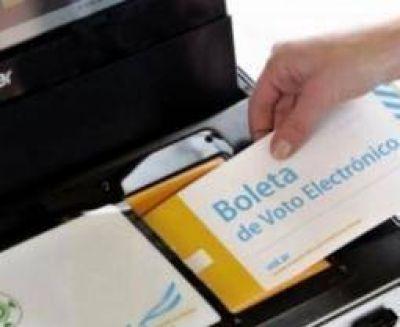'Hola' a la boleta electrónica y 'chau' a listas colectoras