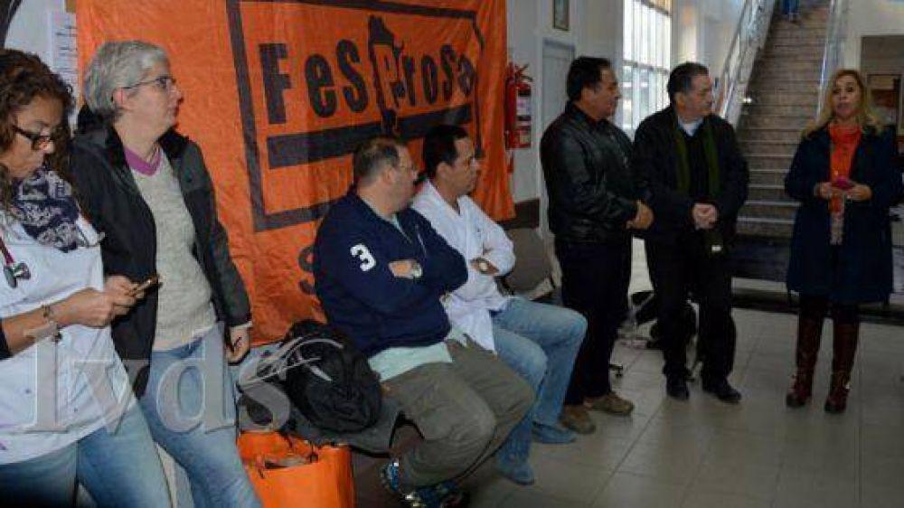 Fesprosa denunciará a Alicia Kirchner ante la OIT