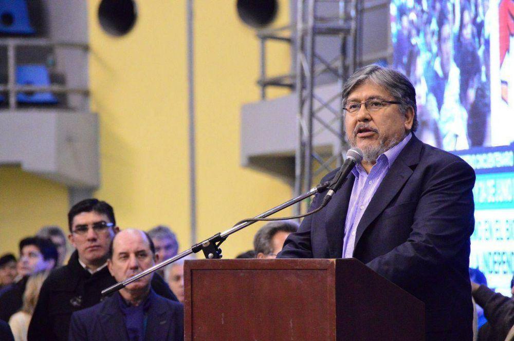Navarro destacó el valor del PJ formoseño al ponerse de pie y decirle al peronismo nacional que hay que caminar